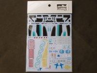 MONOPOST【SD-MP035】1/20 W08 British & japan GP Kit - Spare Decal