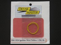 DETAIL MASTER【DM-1024】igntion Wire 〈Yellow 〉3ft.