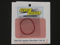 DETAIL MASTER【DM-1025】igntion Wire 〈Red 〉3ft.