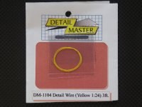 DETAIL MASTER【DM-1104】Detail Wire 〈Yellow〉3ft.