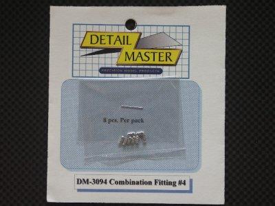 画像1: DETAIL MASTER【DM-3094】Combination Fitting#4