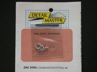 "DETAIL MASTER【DM-3096】Combination Fitting#6(8pce@.084""I.D)"