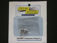 "DETAIL MASTER【DM-3097】Combination Fitting#7(8pce@.102""I.D)"