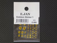 E‐JAN【E-800】Ferrari Embulem Sticker 1