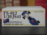 FS MODEL【FS-012】1/20 JS43 Australian GP 1996 kit