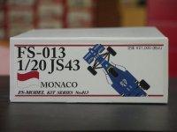 FS MODEL【FS-013】1/20 JS43 Monaco GP 1996 kit