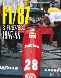 MFH【JHB-011】JOE HONDA Racing Pictorial Series11 FERRARI  F1/87 & F1/87/88C