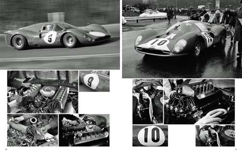 他の写真1: MFH【JHB-S01】JOE HONDA SportscarSpectacles No1 FERRARI 330P4 P3/4‐412P 1967