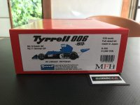 MFH【K-300】1/20 Tyrrell 006  Dutch&German GP Kit 【2020年8月数量限定再生産】