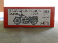 MFH【K-662】1/9scale Fulldetail Kit : Brough Superior SS100 -1926-