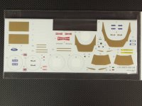 MFH【SDK-190】LOTUS 72C VerA 対応スペアデカール
