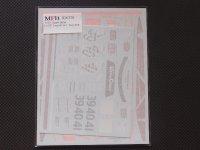 """MFH【SDK-376】1/24 F1 GTR """"Long tail""""Ver.A  Spare decal"""