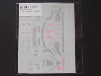"MFH【SDK-378】1/24 F1 GTR ""Long tail""Ver.C  Spare decal"