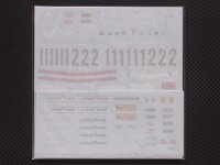 MFH【SDK-312B3】Ferrari 312B3 1974  Spare decal