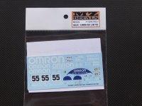 """MZ DECALS【MZ-023】PORSCHE962C""""OMRON""""LM 90"""