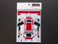 "MZ DECALS【MZ-0039】R8""WRT""#1/2 Spa 2014 Decal"
