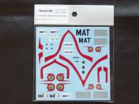 Ready⇒9【RND-24002】1/24 MAZDA MAT DECAL(限定数)