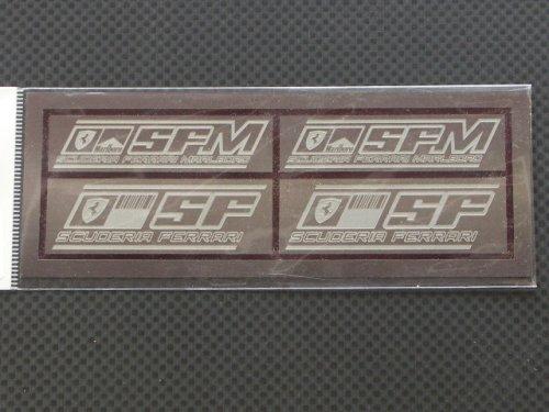 他の写真1: Ready⇒9【RNP010】SUCUDERIA FERRARI logo PLATE Ssize(set)