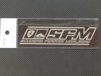 Ready⇒9【RNP012】SUCUDERIA FERRARI logo PLATE Lsize(tabacco)