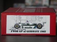 """STUDIO27【DX-2046】1/20 FW08""""ドイツ""""'1982 DX KIT"""