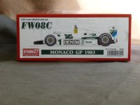 STUDIO27【FD-20005】1/20 FW08C MONACO GP 1983 Kit