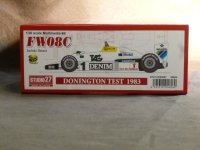 STUDIO27【FD-20007】1/20 FW08C TEST DONINGTON 1983(A・SENNA) Kit