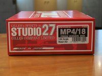STUDIO27【FK-20154】1/20 MP4/18プレス'03