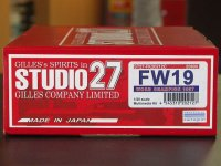 STUDIO27【FK-20212C】1/20 FW19 1997 kit