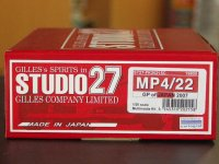 STUDIO27【FK-20215C】1/20 MP4/22 japan GP'07