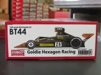 "STUDIO27【FK-20293】1/20 BT44 #28 ""Goldie Hexagon Racing"" kit"