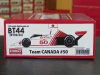 "STUDIO27【FK-20294】1/20 BT44 #50 ""Team CANADA"" kit"