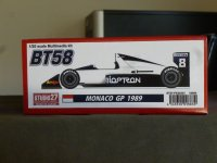 "STUDIO27【FK-20331】1/20 BT58 ""MONACO GP""1989 kit"