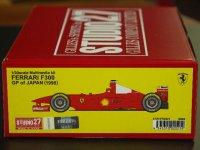 STUDIO27【FR-2021】1/20 FERRARI  F300 JAPAN GP 1998