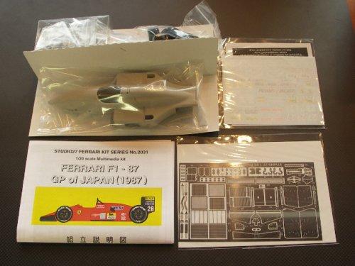 他の写真1: STUDIO27【FR-2031】1/20 FERRARI  F187 japan 1987