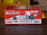 STUDIO27【TRK-003】1/20 March761 #10/#34 U.S.A. West GP 1976 kit