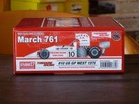 STUDIO27【TRK-003】1/20 March761 #10/#34 U.S.A. West GP 1976 kit