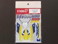 "STUDIO27【DC-808】1/12 ホンダNSR500""A.BARROS "" 1998 #9"