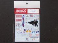 "STUDIO27【DC-811】1/12 DUCATI 2009 ""N.Hayden""#69  ""C.Stoner""#27  ""M.Kallio""#36"