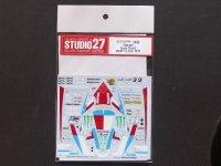 STUDIO27【DC-858】1/12 YAMAHA YZR-M1 Tech 3 #5 #11 USA 2010 DECAL