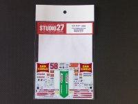 """STUDIO27【DC-905】1/12 RC212V """"Gresini""""#33/58 MotoGP 2010 DECAL"""