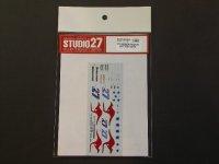 STUDIO27【DC-913】1/12 RC212V #27 Test 2010 DECAL