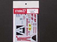 "STUDIO27【DC-785】1/12 ホンダNSR500""emerson""00"