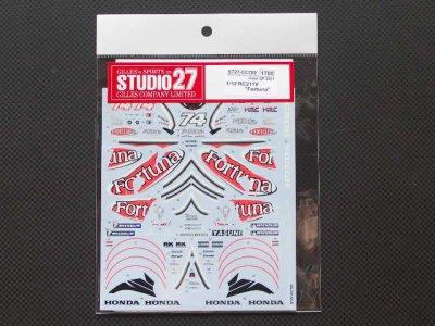"""画像1: STUDIO27【DC-789】1/12 ホンダRC211V""""Fortuna""""'Moto-GP'01"""