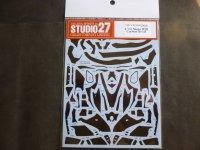 STUDIO27【CD-12006】1/12 Ninja H2R カーボンデカールセット(T社対応)