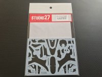 STUDIO27【CD-12007】1/12 YZF R-1M カーボンデカールセット(T社対応)