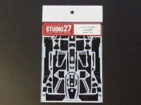 STUDIO27【CD-20012】1/20 LOTUS99T用カーボンデカール(T社対応)