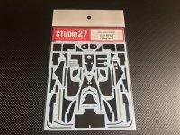 STUDIO27【CD-20018】1/20 MP4/7用カーボンデカール(T社対応)