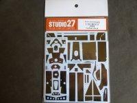 STUDIO27【CD-20038】1/20 MP4/2 1984用カーボンデカール(A社対応)