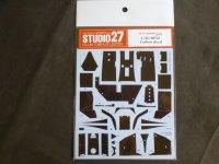 STUDIO27【CD-20046】1/20 BT52用カーボンデカール(A社対応)