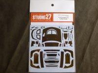 STUDIO27【CD-24024】1/24 LANCER EVOLUTION VI カーボンデカールセット(T社対応)